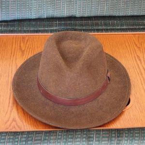 Pendleton Accessories - Vintage Pendleton Wool Fedora Hat ff96cdc43b9